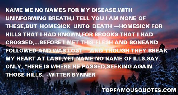 Witter Bynner Quotes