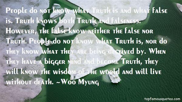 Woo Myung Quotes