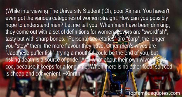Xinran Quotes
