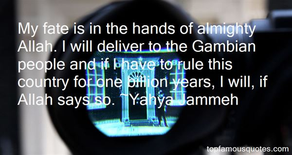 Yahya Jammeh Quotes