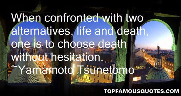 Yamamoto Tsunetomo Quotes