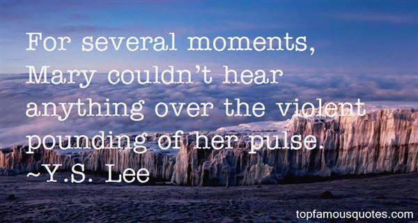 Y.S. Lee Quotes