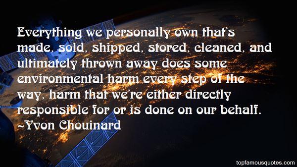 Yvon Chouinard Quotes