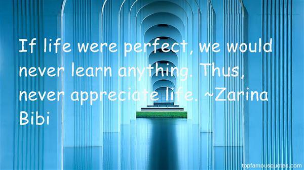 Zarina Bibi Quotes