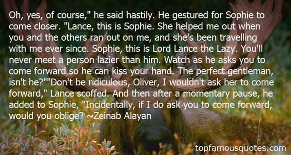 Zeinab Alayan Quotes