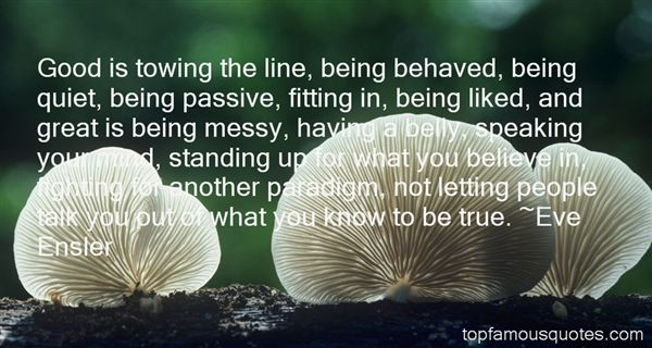 Quotes About Behaved