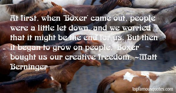 Quotes About Creative Freedom