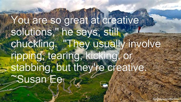 Quotes About Creative Solutions