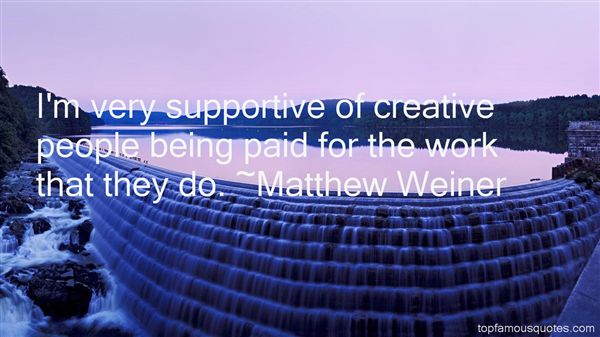 Quotes About Creative Work