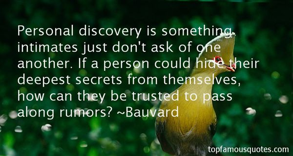 Quotes About Deepest Trust