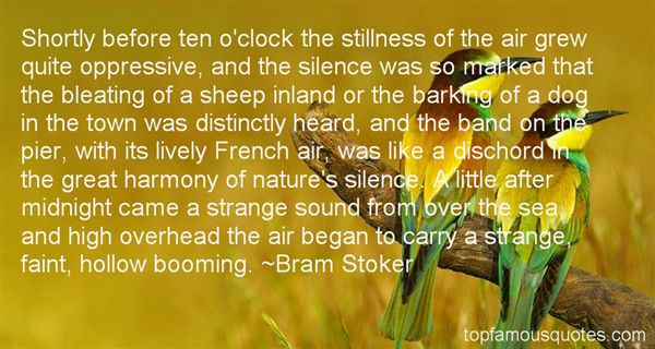 Quotes About Silence In Nature