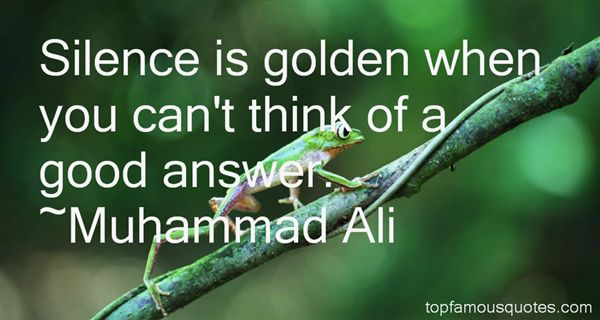 Quotes About Silence Is Golden