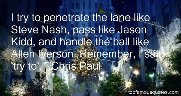 Quotes About Steve Nash