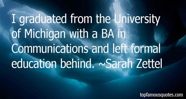 Quotes About University Of Michigan