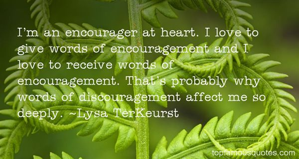 Quotes About Words Of Encouragement