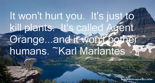 Quotes About Agent Orange