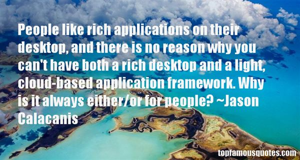 Quotes About Applications