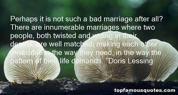 Quotes About Bad Marriages