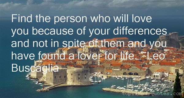 Quotes About Difference In Love