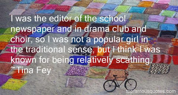 Quotes About Drama Club