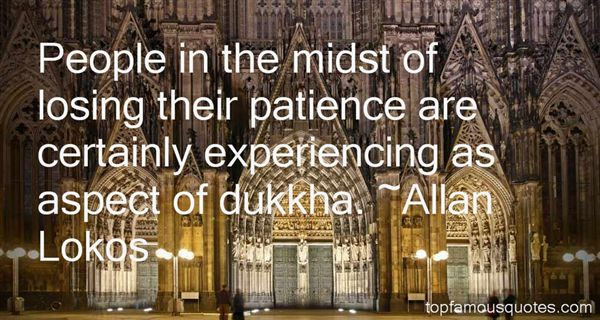 Quotes About Dukkha