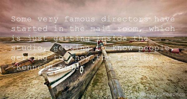 Quotes About Famous Directors