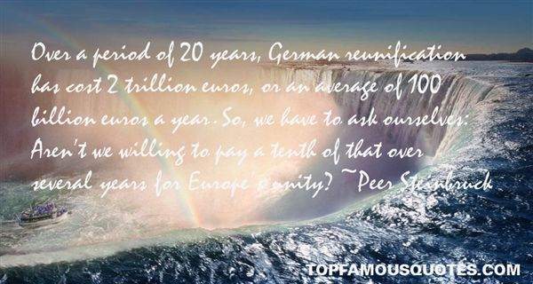 Quotes About German Unification