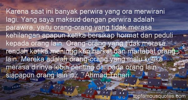 Quotes About Hormat