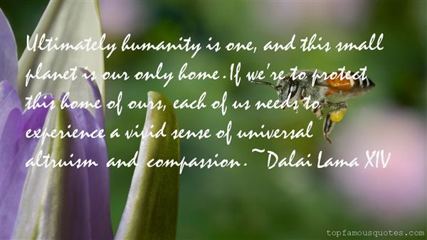 Quotes About Humanity And Compassion