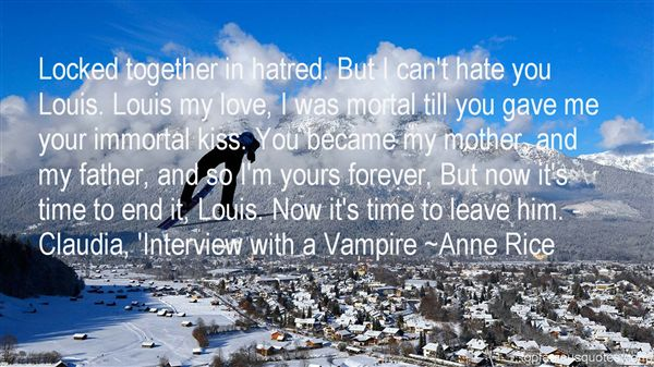 Quotes About Interview With A Vampire