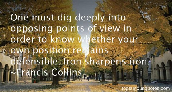 Quotes About Iron Sharpens Iron