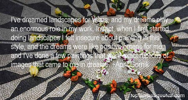 Quotes About Landscape Paintings