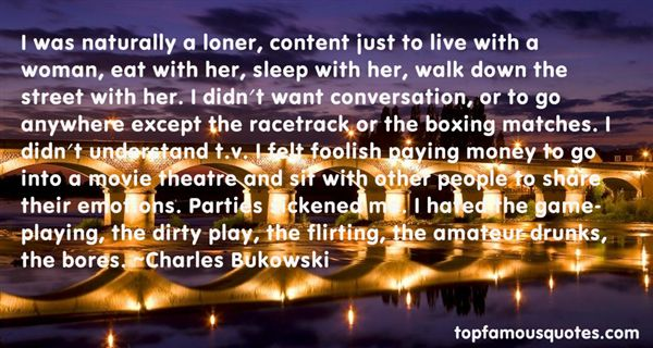 Quotes About Loner