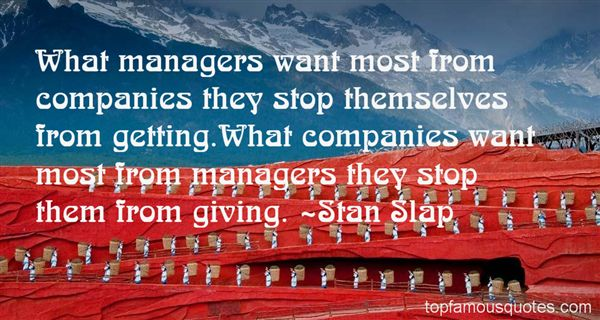 Quotes About Managers