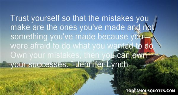 Quotes About Mistakes And Success