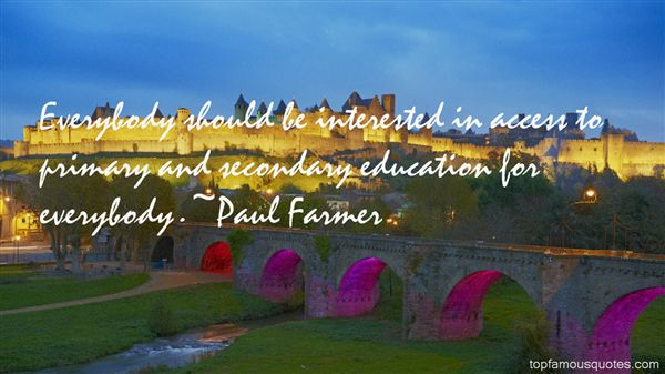 Quotes About Primary Education