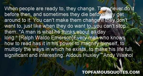 Quotes About Ready For Change