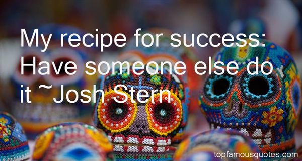 Quotes About Recipe For Success