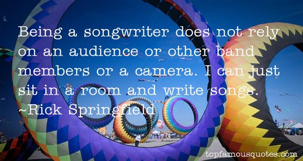 Quotes About Songwriter