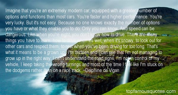 Quotes About Speed Cars