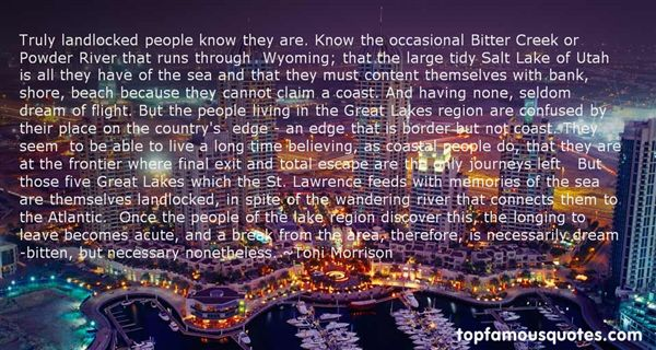 Quotes About The St Lawrence River