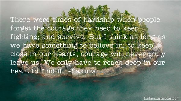 Quotes About Times Of Hardship