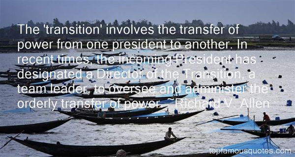 Quotes About Times Of Transition