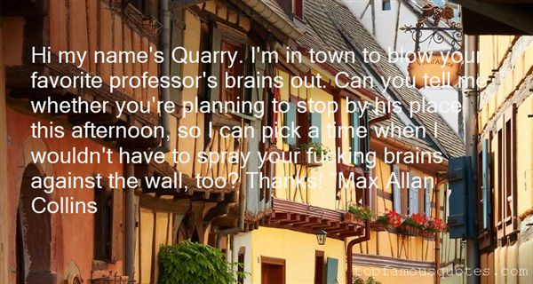 Quotes About Town Planning