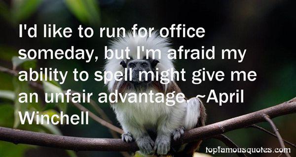 Quotes About Unfair Advantage
