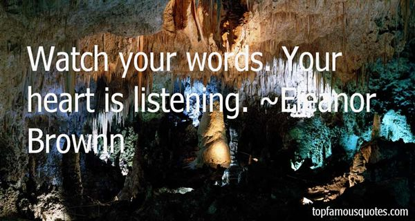 Quotes About Watch Your Words