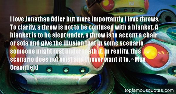 Quotes About Adler