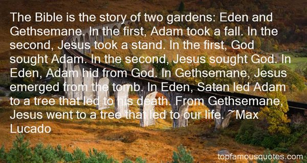 Quotes About Bible Eden