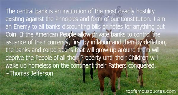 Quotes About Central Banks