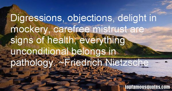 Quotes About Digression